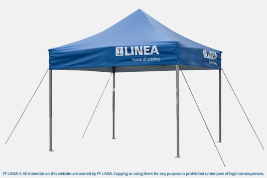 Project Description & EXPO TENT 300 x 300 cm - LINEA