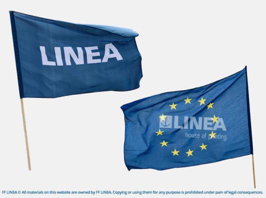 flagi drukowane