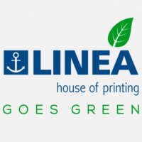 LINEA goes green - logo